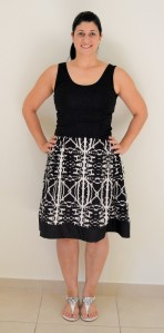 BSD banded skirt front 2